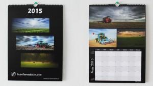 La version réalisée en 2014 laisse la place aux photos ainsi qu'au planning grâce au format A3