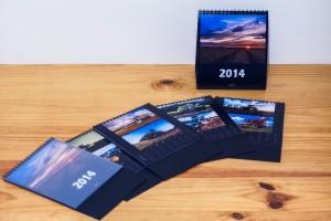 Le premier format réalisé en 2013 était un calendrier de bureau
