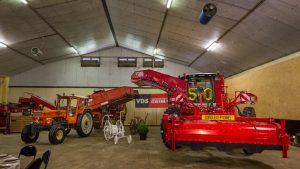 2 ensembles Grimme qui marquent l'évolution du matériel de récolte en 50 ans de Sabbe VRS